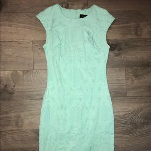 Mint cocktail dress